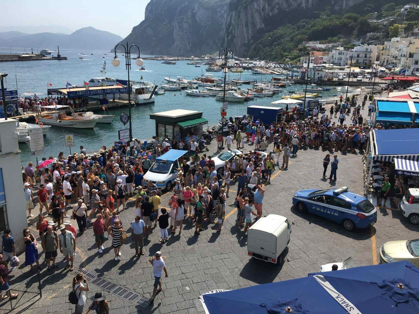 accoglienza Capri