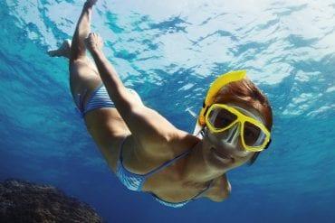 Snorkeling a Capri