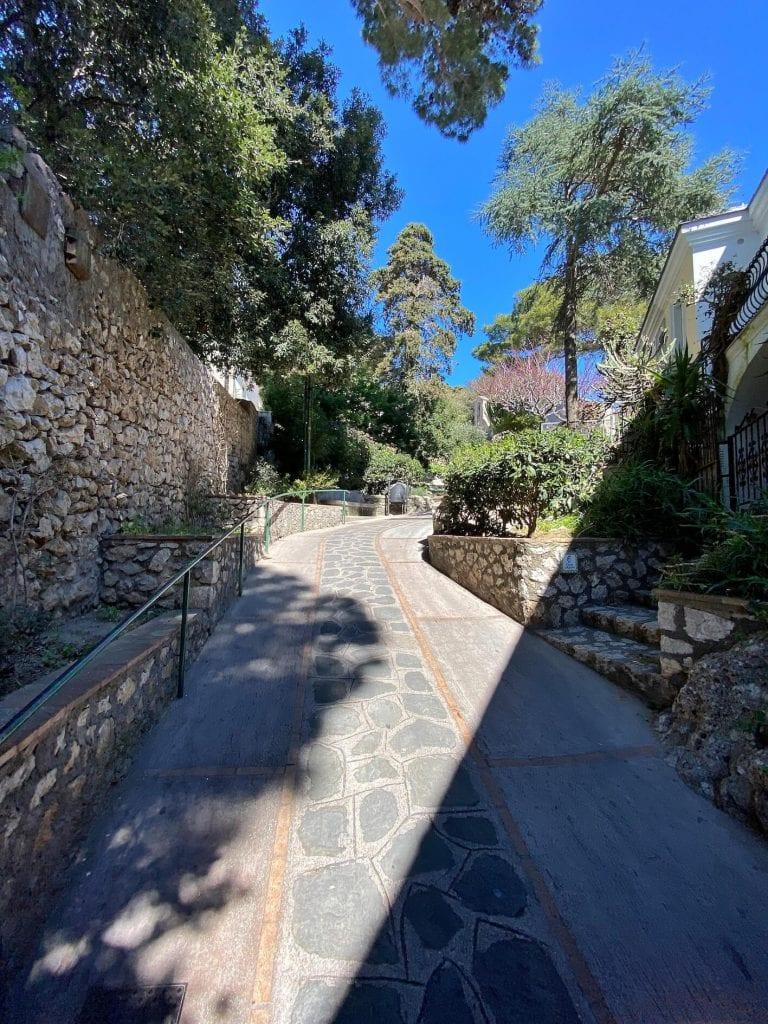 Via Tiberio Capri
