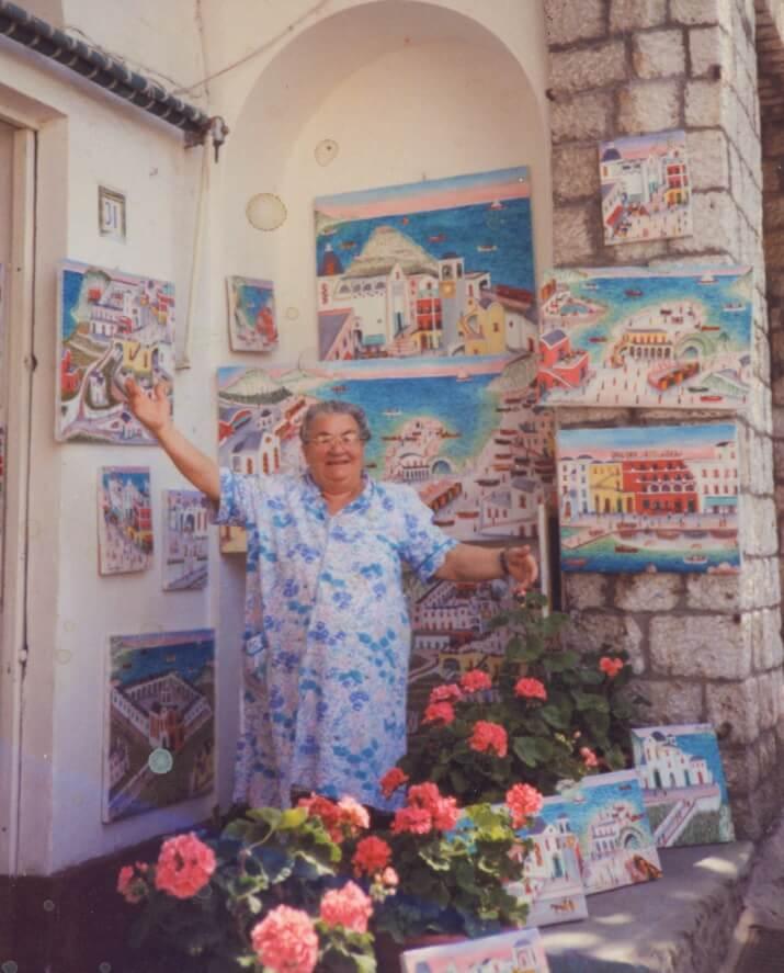 Carmelina Pittrice di Capri
