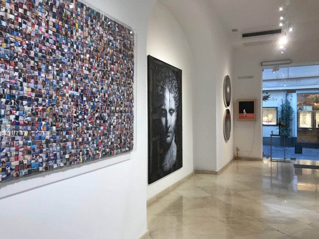 Una mostra di Franco Senesi