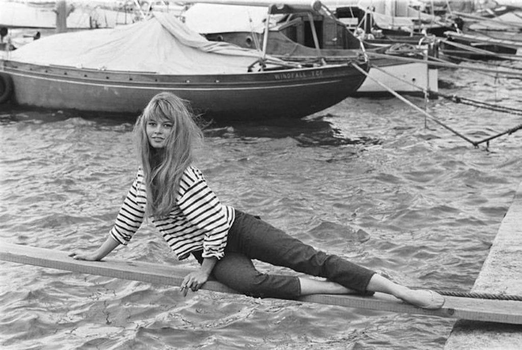 Brigitte Bardot a Capri