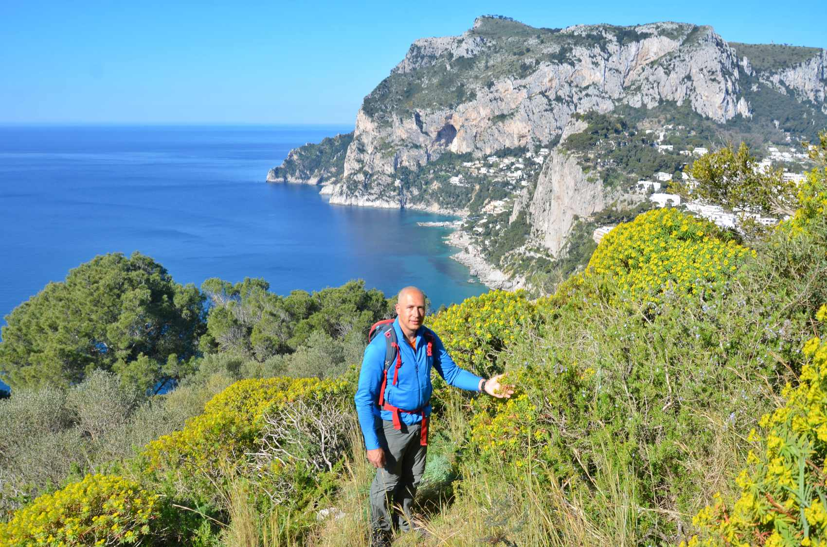Capri Hiking