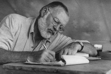 Capri bianco Ernest Hemingway