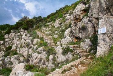 trekking capri