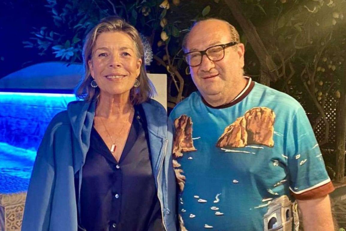 Carolina di Monaco Capri