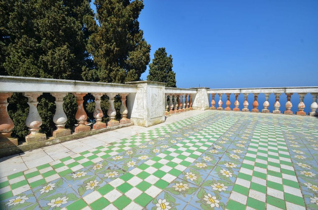 Villa lysis Capri - Jacques Fersen