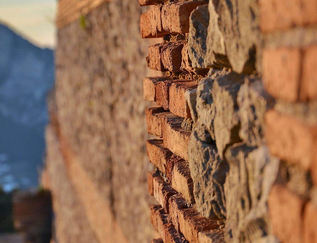 muro villa jovis capri