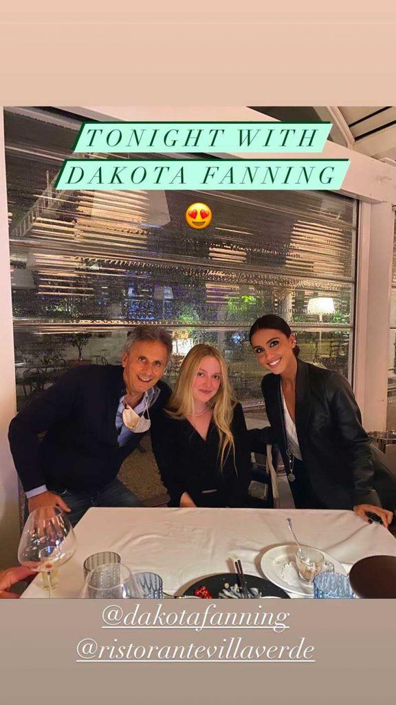 Dakota Fanning Capri